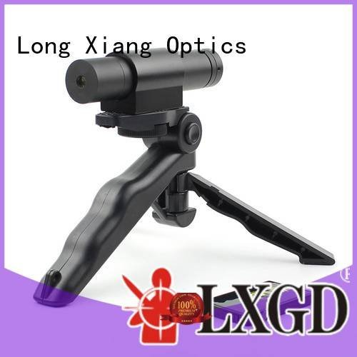 Quality tactical flashlight with laser Long Xiang Optics Brand line tactical laser pointer