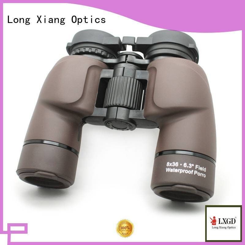 compact waterproof binoculars wide Long Xiang Optics Brand waterproof binoculars