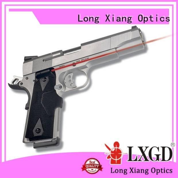 tactical flashlight with laser ring Long Xiang Optics Brand