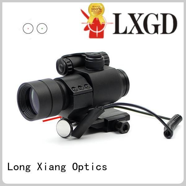Long Xiang Optics scope ipx7 red dot sight reviews