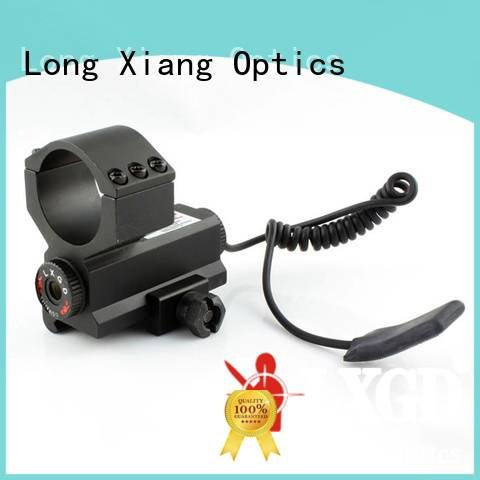 Long Xiang Optics Brand red tactical flashlight with laser