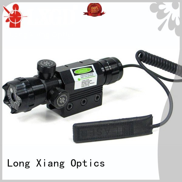 Long Xiang Optics laser line tactical flashlight with laser