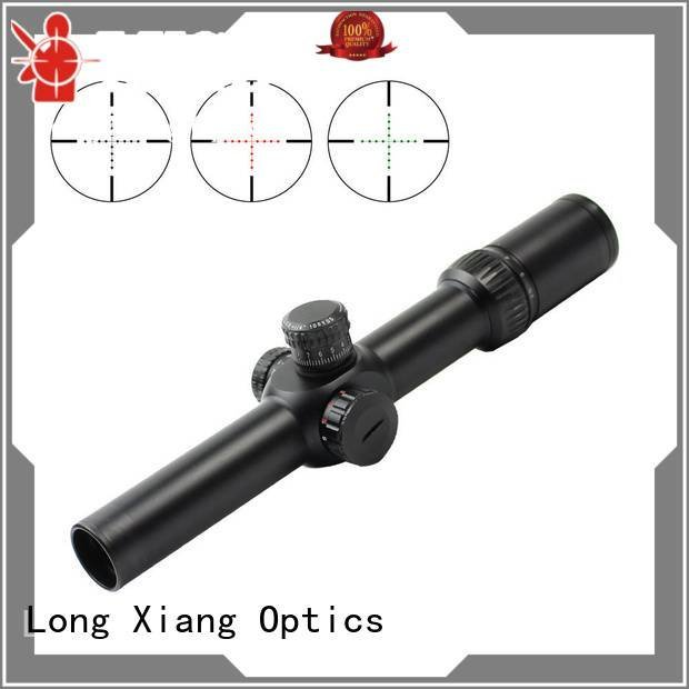 Wholesale red 308 ar hunting scope Long Xiang Optics Brand