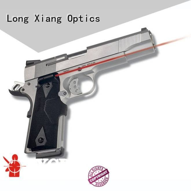 crimson tactical laser pointer grip Long Xiang Optics