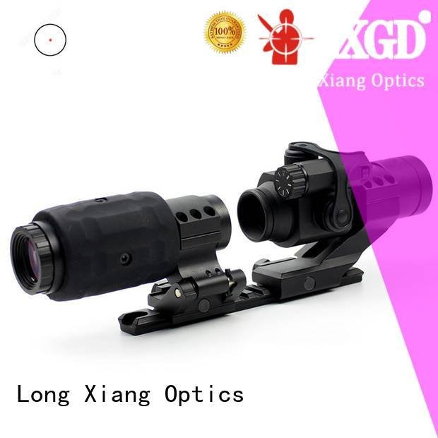 big tactical red dot sight Long Xiang Optics red dot sight reviews