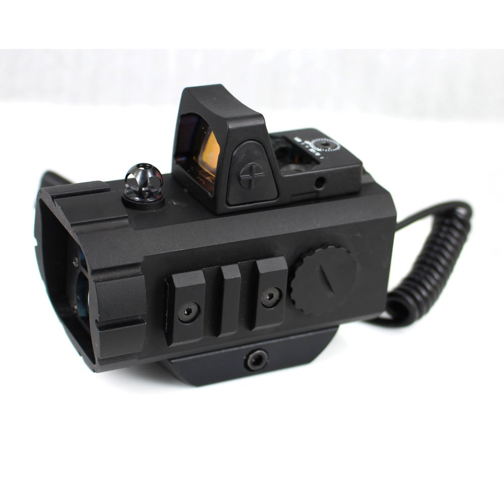 Tactical rangefinder distance mearsure hunting red dot scope LRR-001
