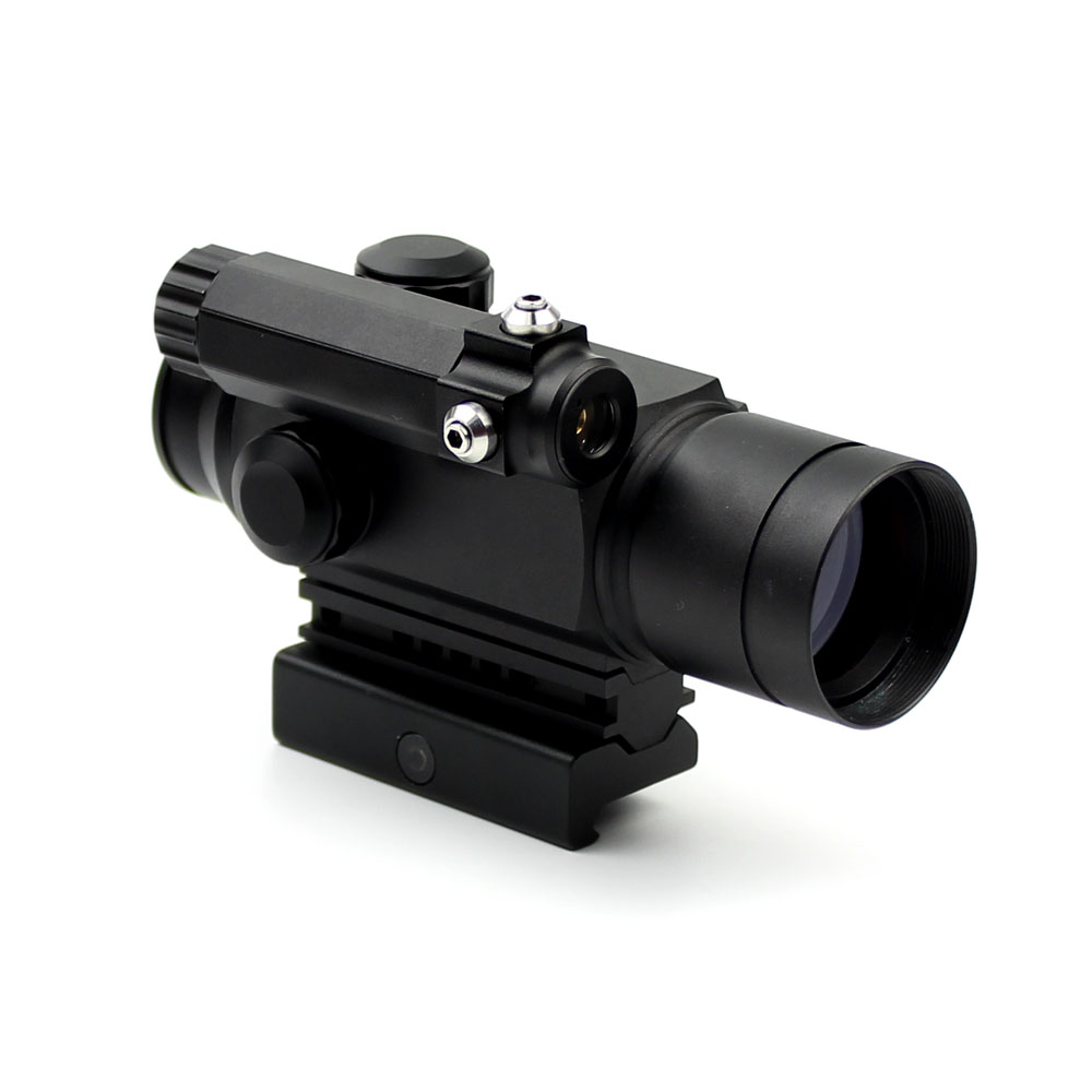 Long Xiang Optics-Red Dot Sight Scope Laser Sight Combo With Rail Mount Hd-25