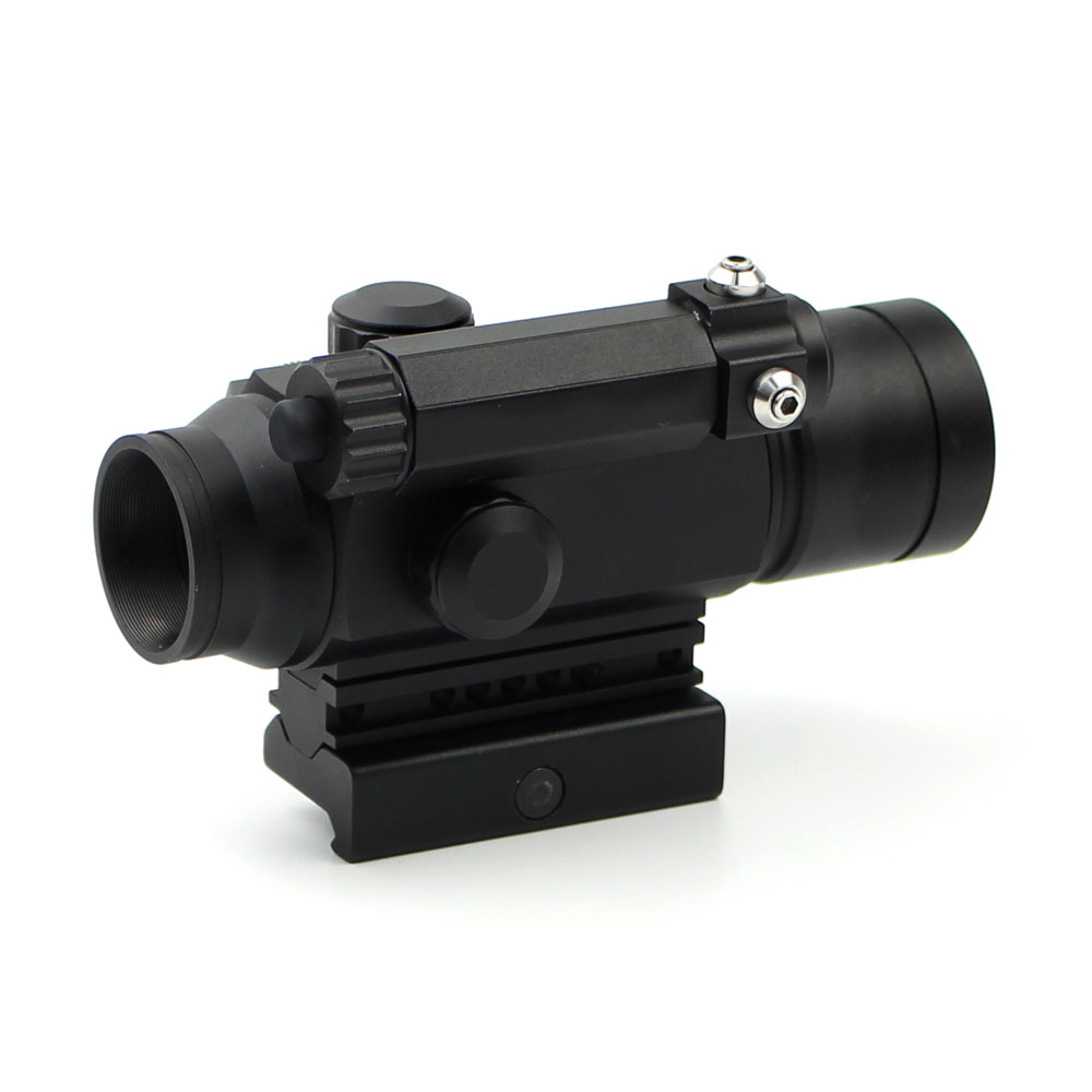 Long Xiang Optics-Red Dot Sight Scope Laser Sight Combo With Rail Mount Hd-25-1