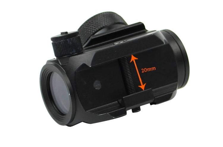 Long Xiang Optics-Ar-15 Red Dot Optics Reflex Sight 3moa Water Fog Proof Hd-26-5