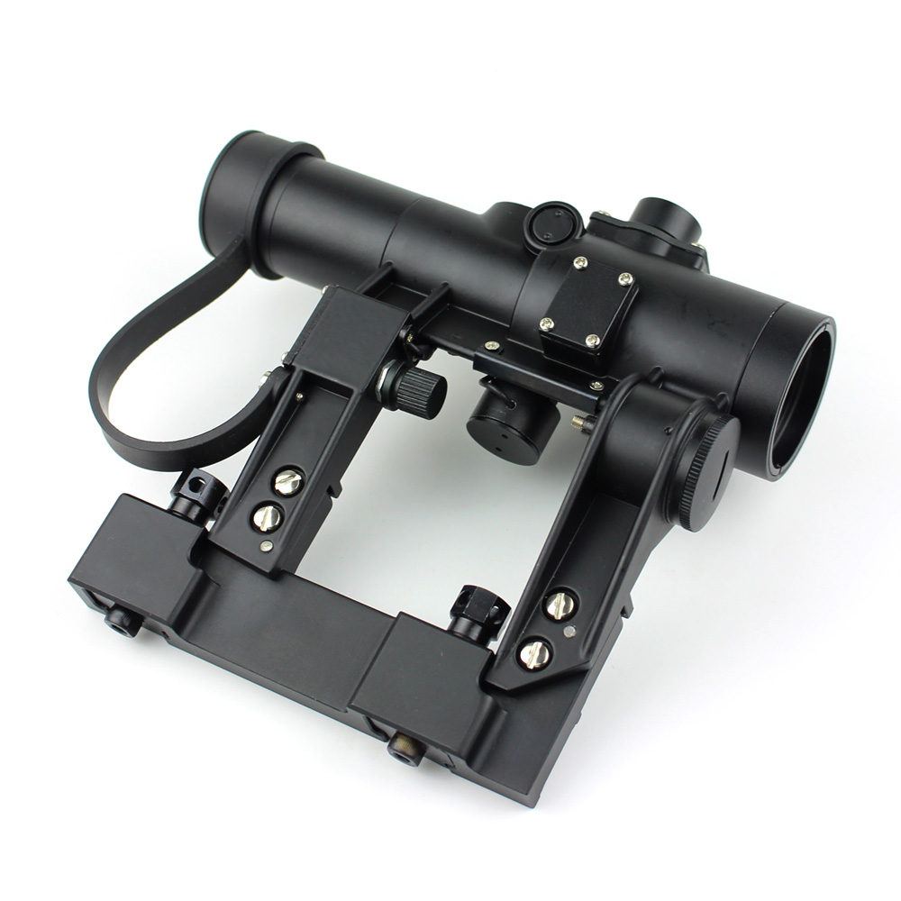 Long Xiang Optics-Military Tactical Scope For Ak 47 Gun Fmc Red Dot Sight 1x24-1