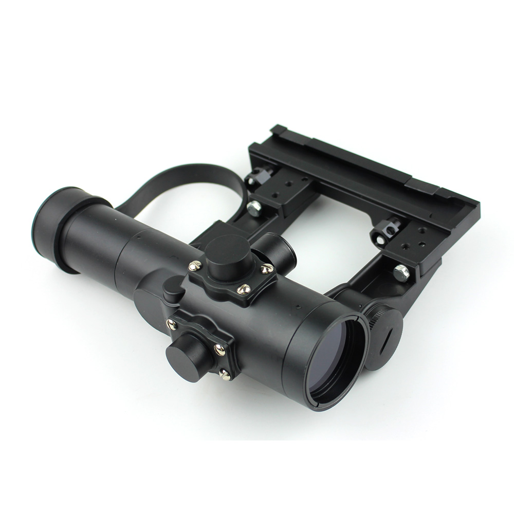 Long Xiang Optics-Military Tactical Scope For Ak 47 Gun Fmc Red Dot Sight 1x24-4