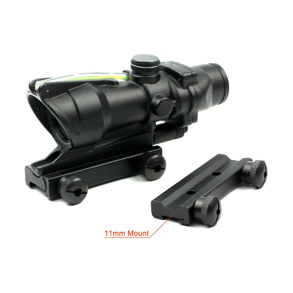 Long Xiang Optics-1x32 Scopes Sight Optics Real Fiber R or G Dot Scope w2011mm rail-1
