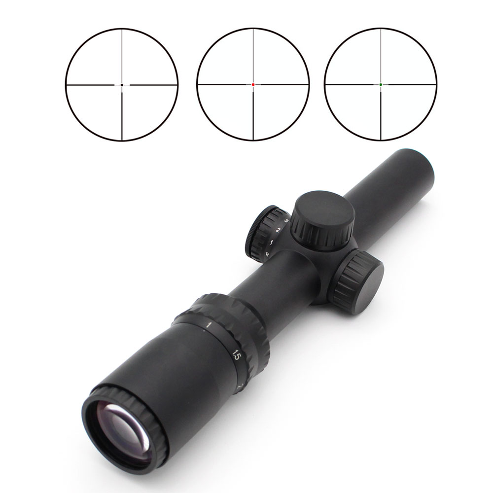 Second Focal Plane Rifle Scope Long Distance Shooting TH1-4X24IR
