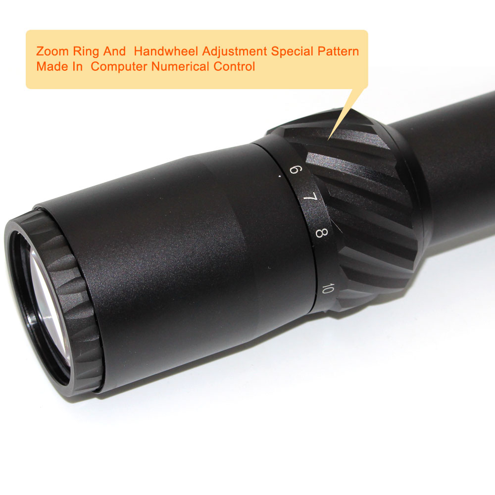 Long Xiang Optics-First Focal Plane Long Distance Scopes Hunting Riflescope 6-24x50-9