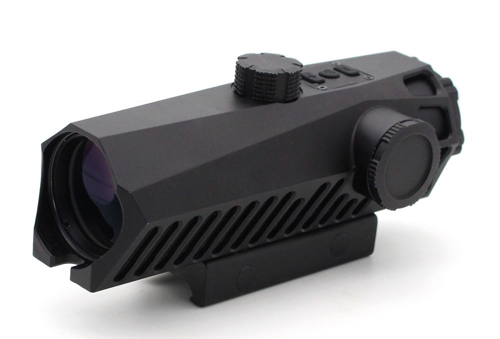 Long Xiang Optics-Fixed Power Tactical Scopes Red Green Blue Reticle Ar Sights 4x32-1