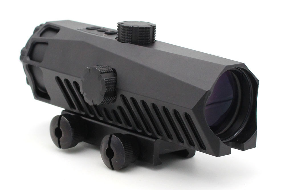 Long Xiang Optics-Fixed Power Tactical Scopes Red Green Blue Reticle Ar Sights 4x32-2