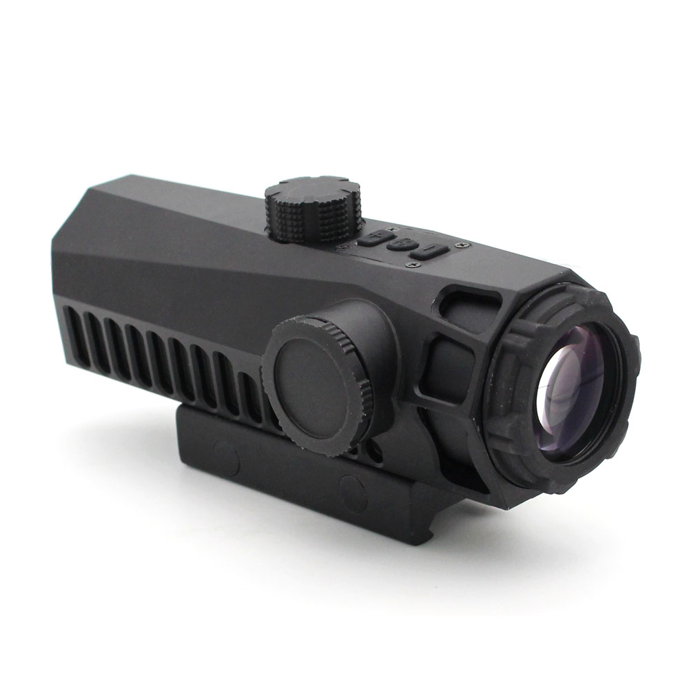Long Xiang Optics-Fixed Power Tactical Scopes Red Green Blue Reticle Ar Sights 4x32-4