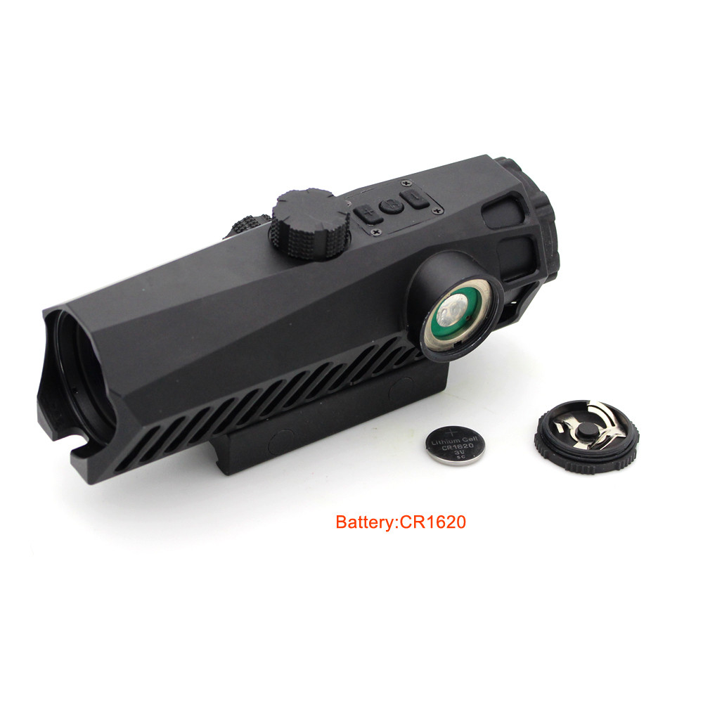 Long Xiang Optics-Fixed Power Tactical Scopes Red Green Blue Reticle Ar Sights 4x32-5