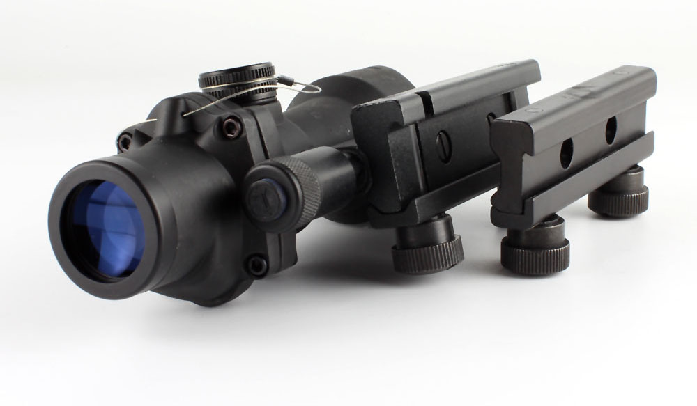 Long Xiang Optics-Factory Direct Sale 223 Tactical Scope wFalse Fiber Crosshair 4x-2