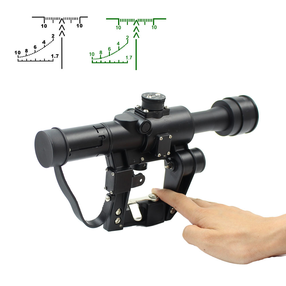 Top Rated Long Range Scopes Svd4x26 Military Scopes w/Ranging Illuminated Reticle SVD4x26