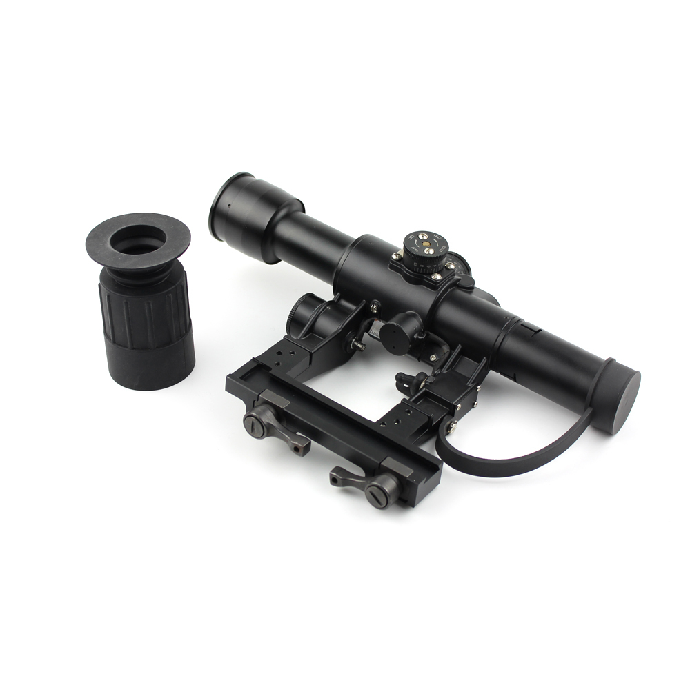 Tactical Magnifier Scope 4x26 For Ak Exclusive Use Rangefinding Riflescope AK4x26