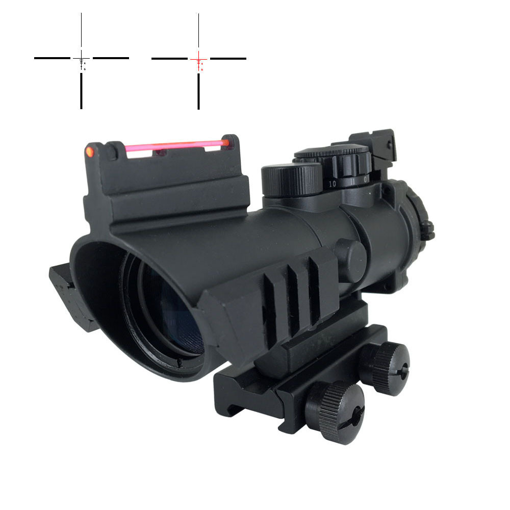 Best Tactical Scope 4x32 Optics Sight Air Rifles Scope 4x32G