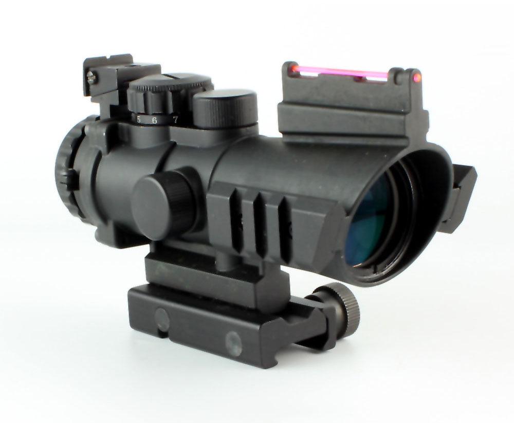Best Tactical Scope 4x32 Optics Sight Air Rifles Scope 4x32G