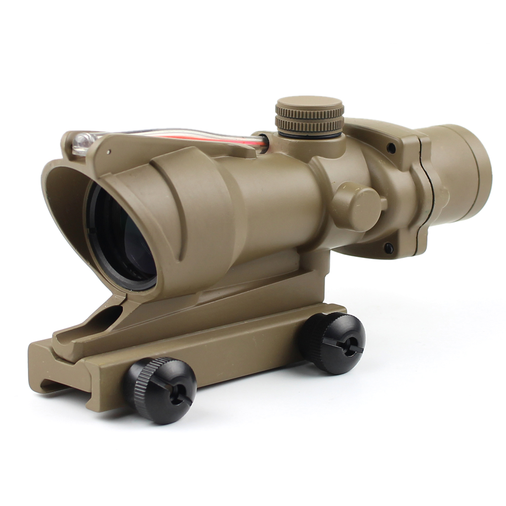 Long Xiang Optics-New Fiber Optic Illuminated Rifle Scope 4x Magnification 4x32c | Tactical-3