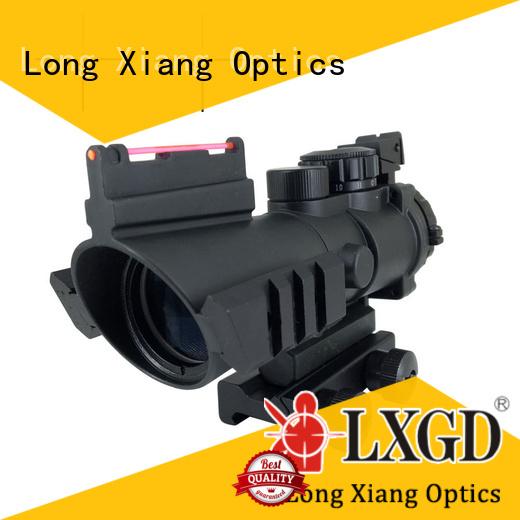scope telescopic fiber vortex tactical scopes Long Xiang Optics manufacture