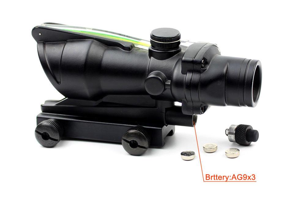 Long Xiang Optics-Open Red Dot Sight | Hunting 1x32 Scopes Sight Optics Real Fiber R Or G-2