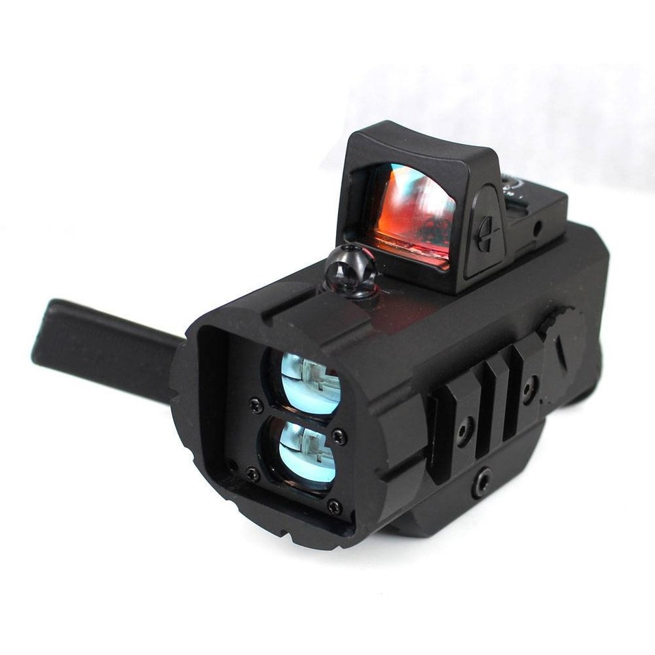 Tactical rangefinder distance mearsure hunting red dot scope LRR-001