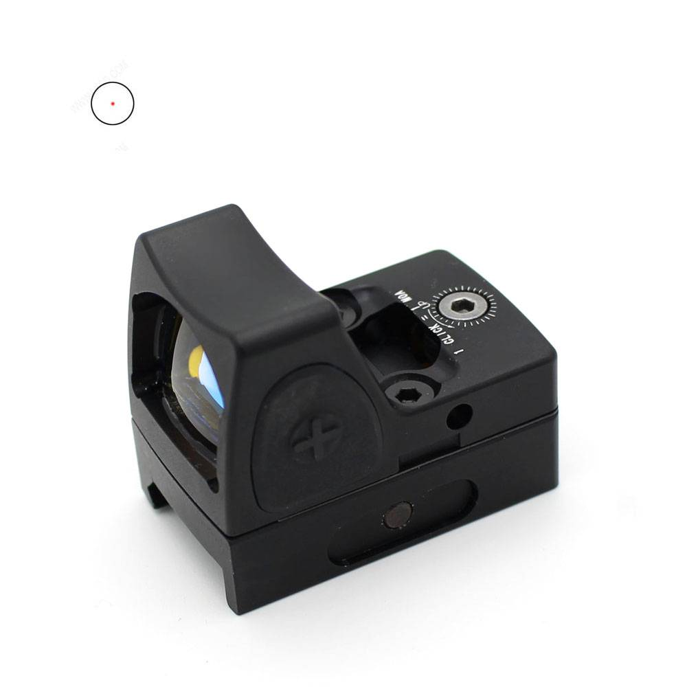 800g Shockproof Micro Red Dot Sight Precise 2 Moa Collimator Sight For Firearms