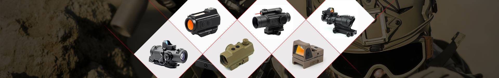 Long Xiang Optics-High Quality Holographic Red Dot Sight 2 Moa Red Dot Sight