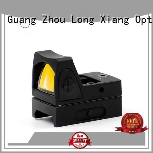 compact Quality Long Xiang Optics Brand red dot sight reviews tactical waterproof