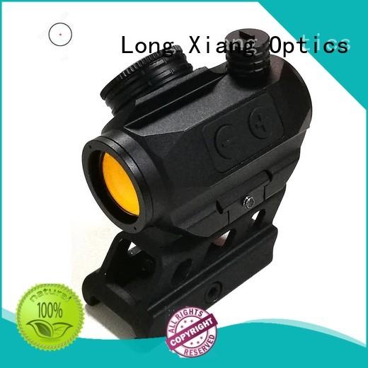red dot sight reviews open rifle tactical Long Xiang Optics Brand tactical red dot sight