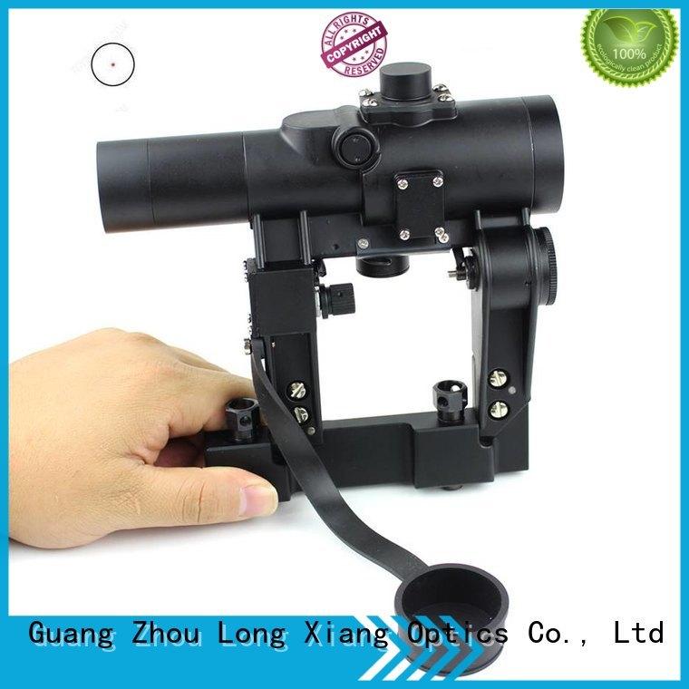 red dot sight reviews waterproof open ar Long Xiang Optics Brand tactical red dot sight
